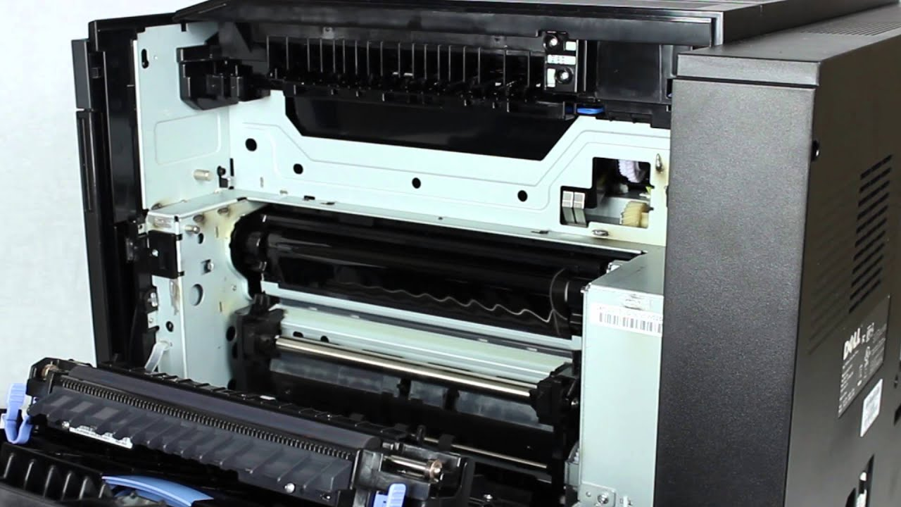 Replacing the Fuser on Dell 5130cdn Laser Printer