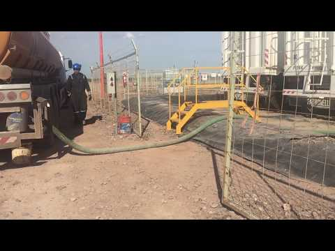 Active Fracking Waste Injection Well - Añelo, Neuquén, Argentina - 10.30.16