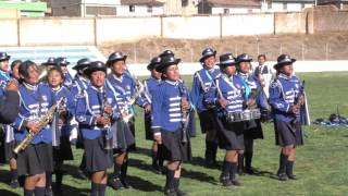 Espectacular Concurso de Bandas 2015 en Tarma Organizado Colegio J:G:O