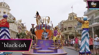 Bow, Pops and Ruby Join the Disney Parade - black-ish