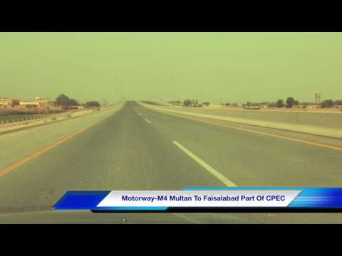 Motorway Pakistan Update M-4 #Multan To #Faisalabad |Long Drive| Complete Video