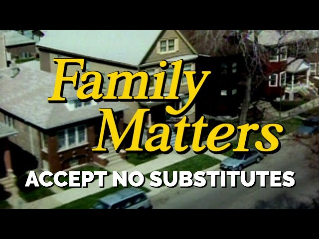 FAMILY MATTERS (Week 2) | Accept No Substitutes