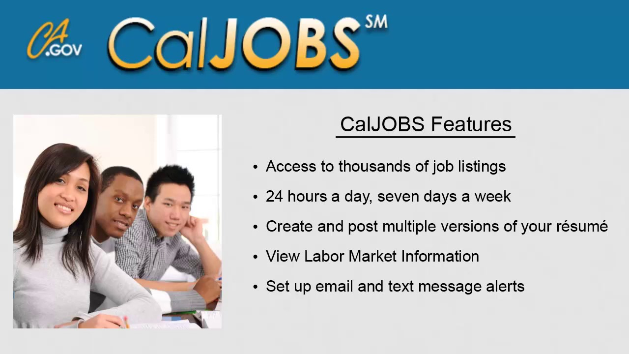 cal jobs login