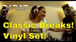 Breaks Classics Vinyl Mix DJ Rap Show 6