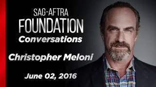 Conversations with Christopher Meloni