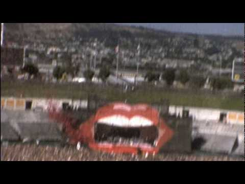 The Rolling Stones - A Few Minutes of the July 26 1978 Oakland Coliseum Concert - Super8