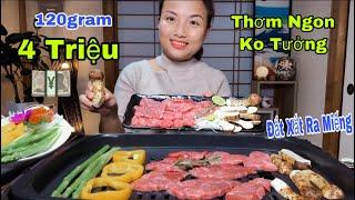 🇯🇵Mạnh Tay Chi Tiền Ăn Thử Nấm Tùng Nhung Giá Siêu Khủng, Nướng Cùng Bò Wagyu&Trứng Cá Hồi #371