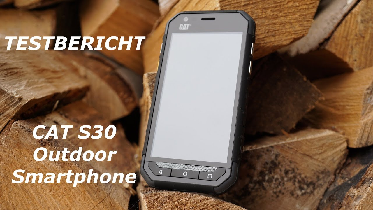test cat s30 outdoor smartphone deutsch youtube. Black Bedroom Furniture Sets. Home Design Ideas