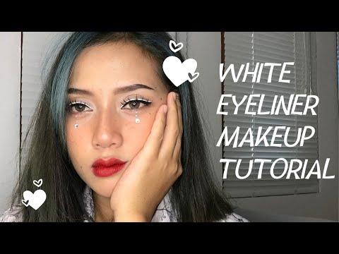 makeup-tutorial-white-liner