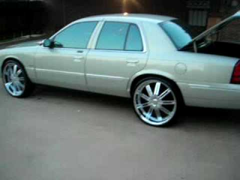 Grand Marquis On 24s Youtube