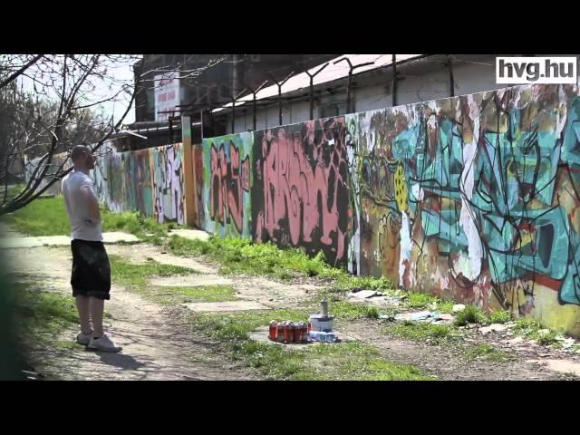 Kikopott a graffiti a mindennapjaimból