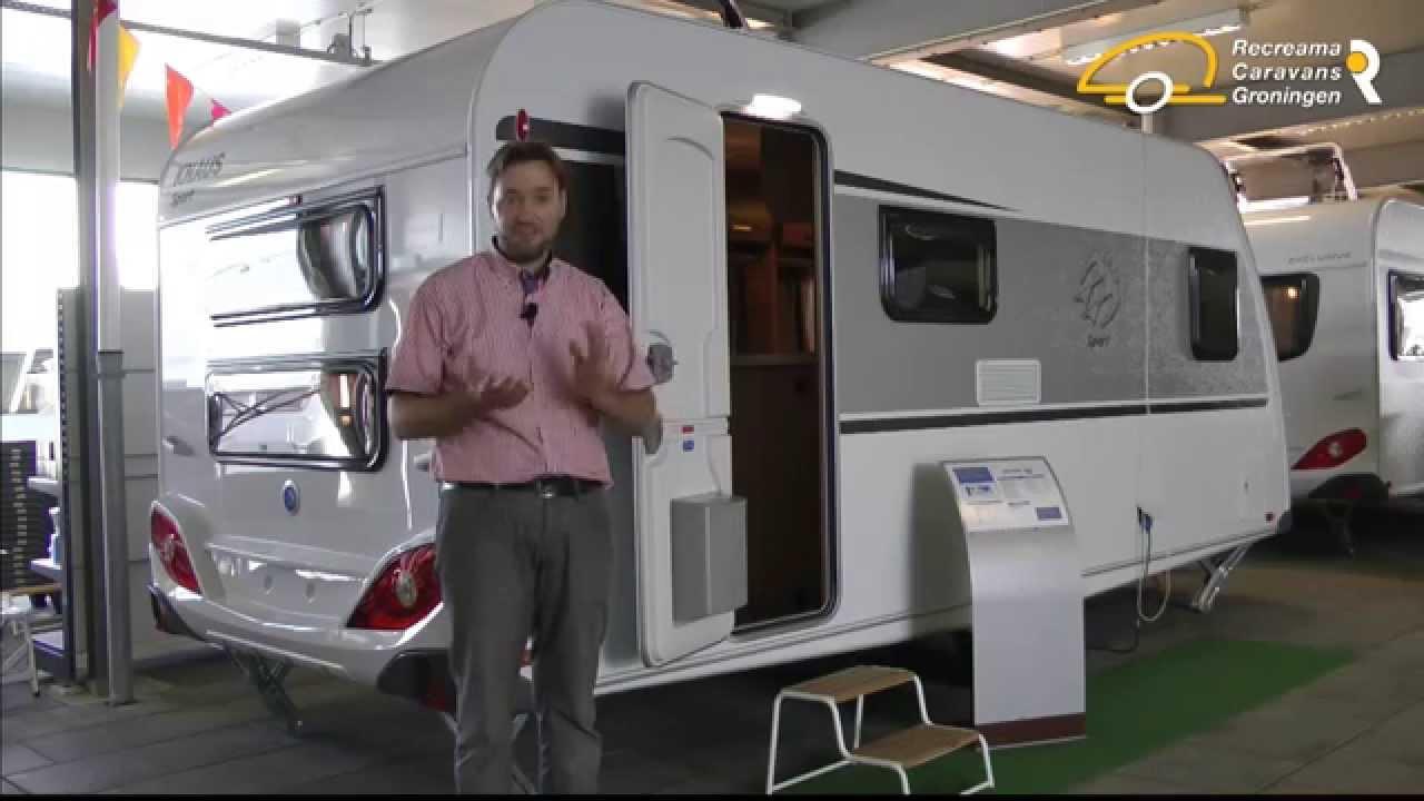 Knaus Caravan Met Stapelbed.Knaus Sport 500 Fdk 2015 Recreama Caravans Youtube