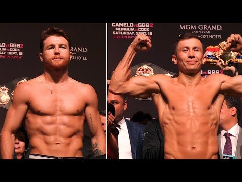 Canelo Vs GGG 2 | HEATED Full Weigh In & Face Off