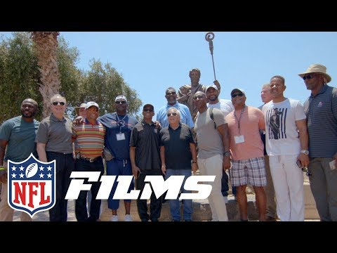 Katie Nolan Tours the Holy Land with 18 Hall of Famers | NFL Films Presents