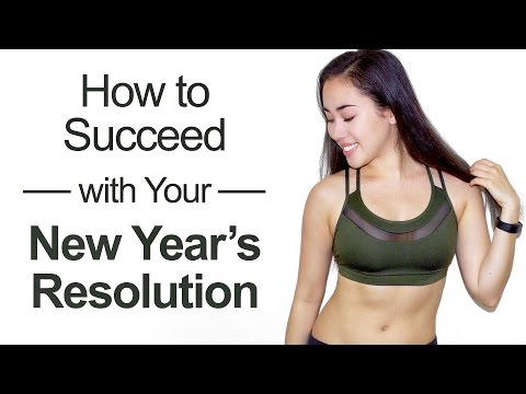 �� 5 Tips for Succeeding with Your New Year's Resolution! ��