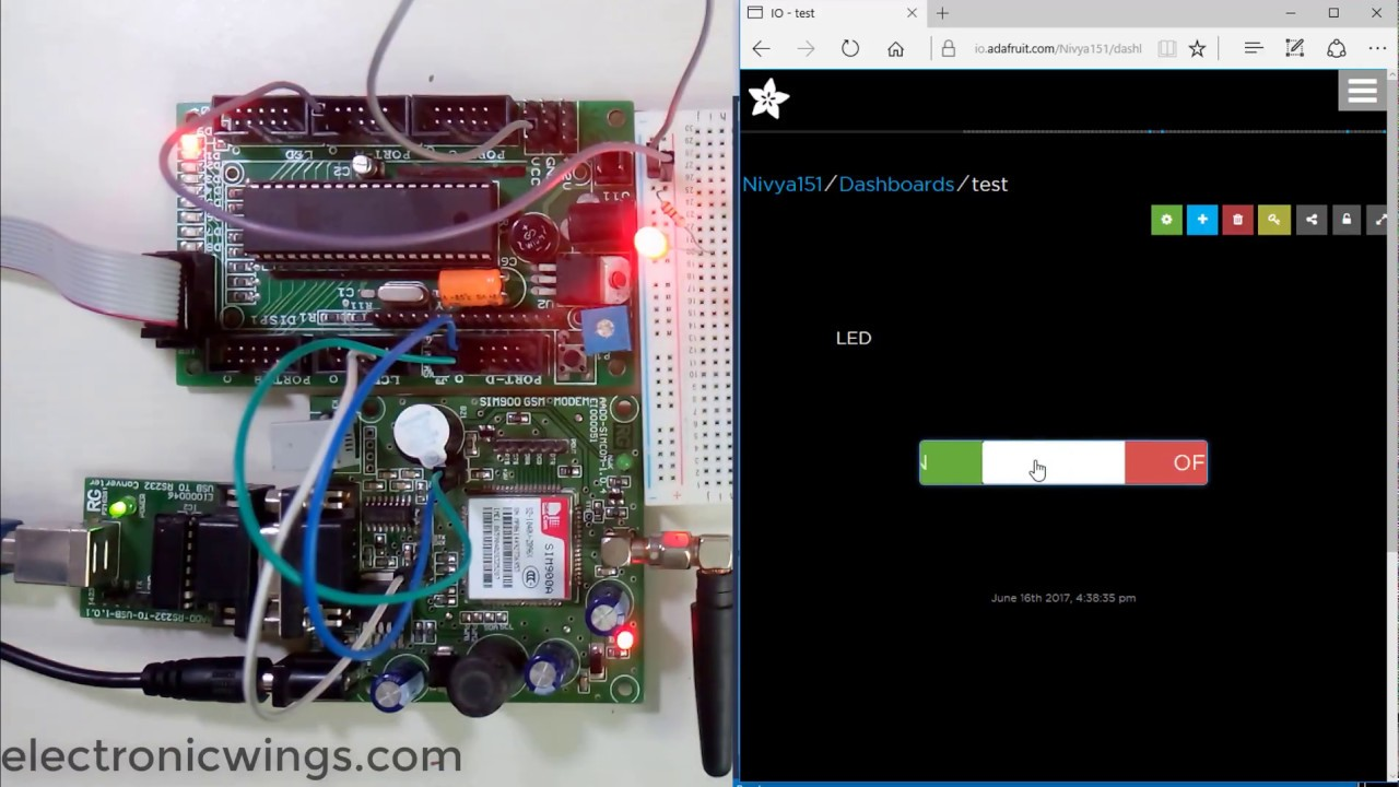 Avr Atmega Http Client Using Sim900a Gprs And Atmega16 | Avr