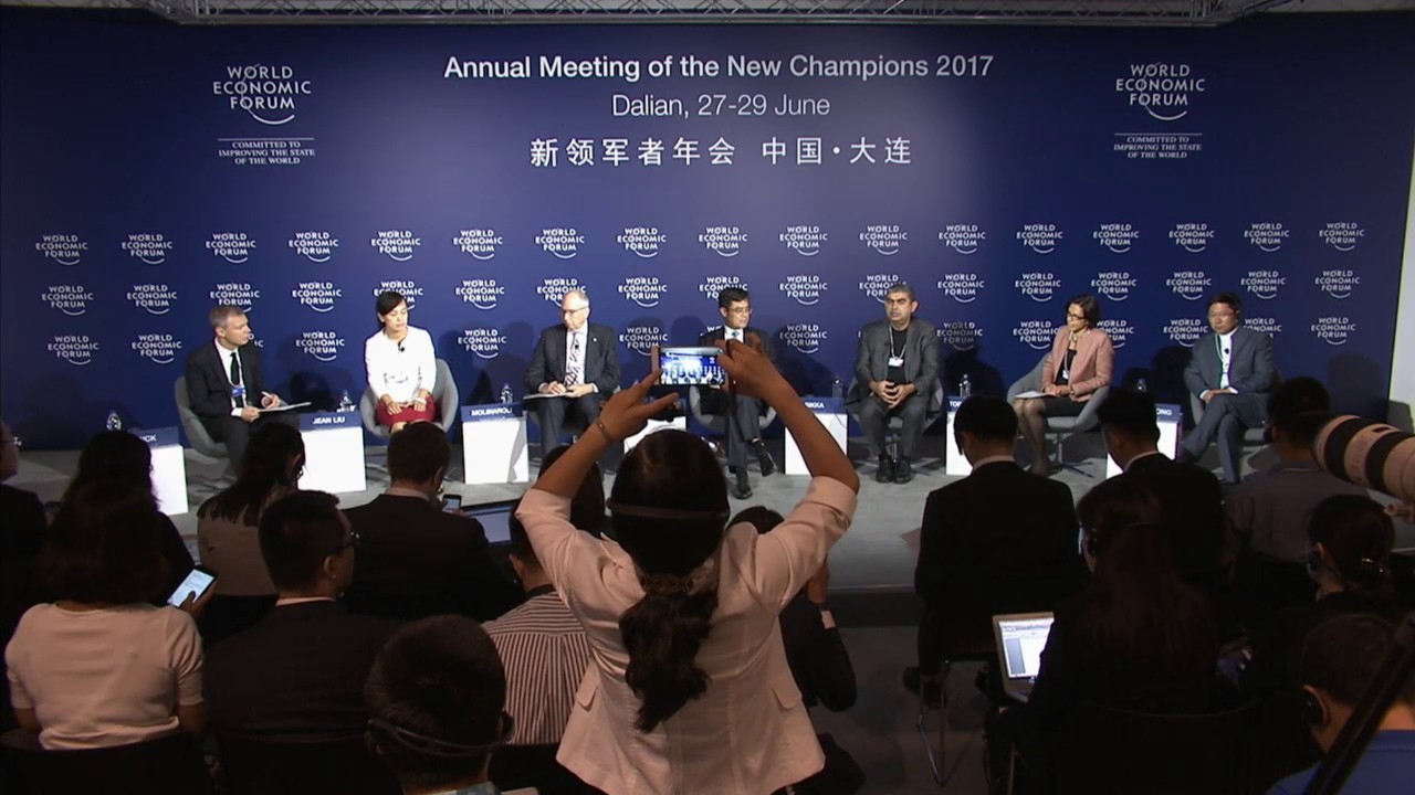 China 2017 - Press Conference: Meet the Co-Chairs of the Annual Meeting of the New Champions 2017