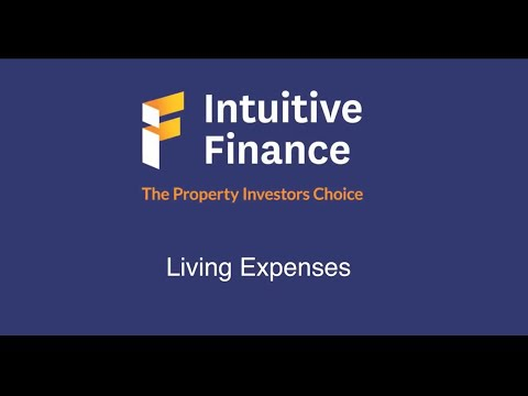 Intuitive Finance Living Expenses