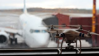 Travel with a drone on an airplane