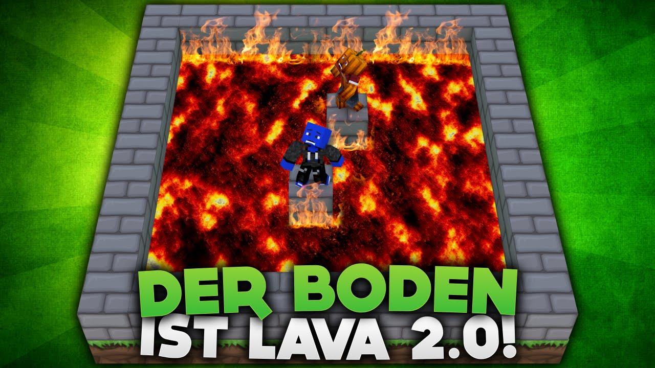Der boden ist lava 2 0 diebuddieszocken youtube for Boden ist lava