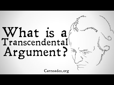 What is a Transcendental Argument? (Philosophical Methods)