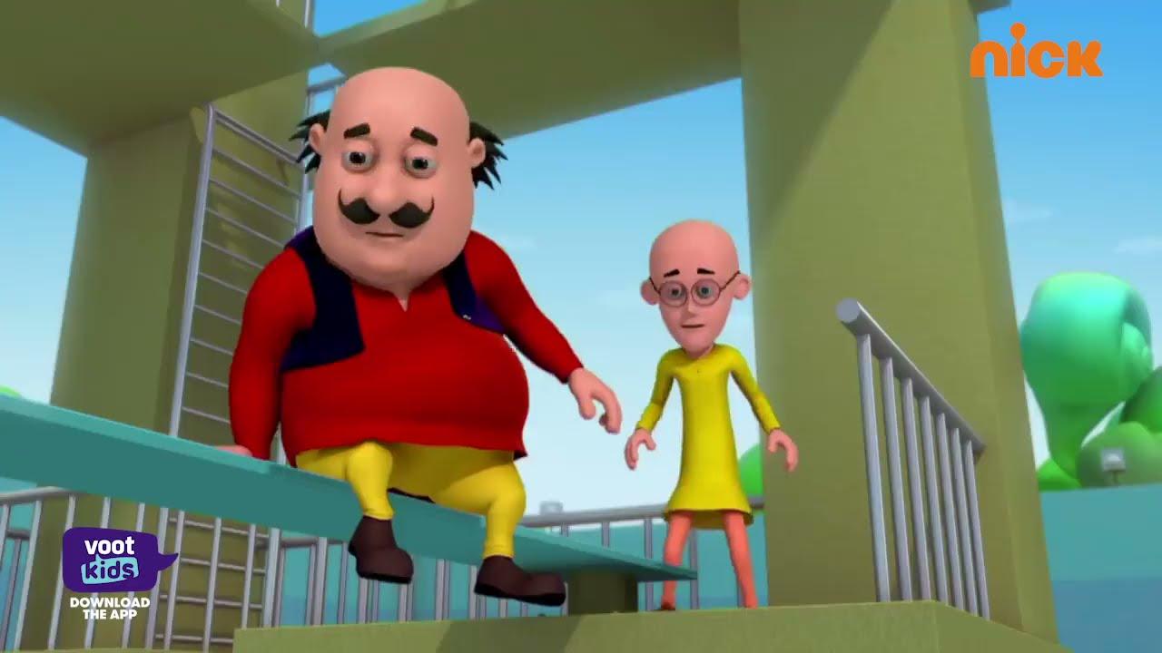 Motu Patlu   मोटू पतलू S1   Bahaduri Puruskar   Episode 117 Part 2   Voot Kids