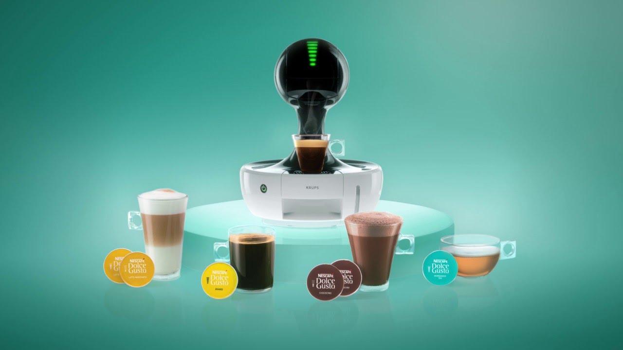 drop nescaf dolce gusto tecnolog a t ctil y dise o. Black Bedroom Furniture Sets. Home Design Ideas