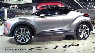 2016, 2017 SUV Toyota C-HR, 2.0-liter, 240HP - Next 2017, 2018 Toyota RAV4?