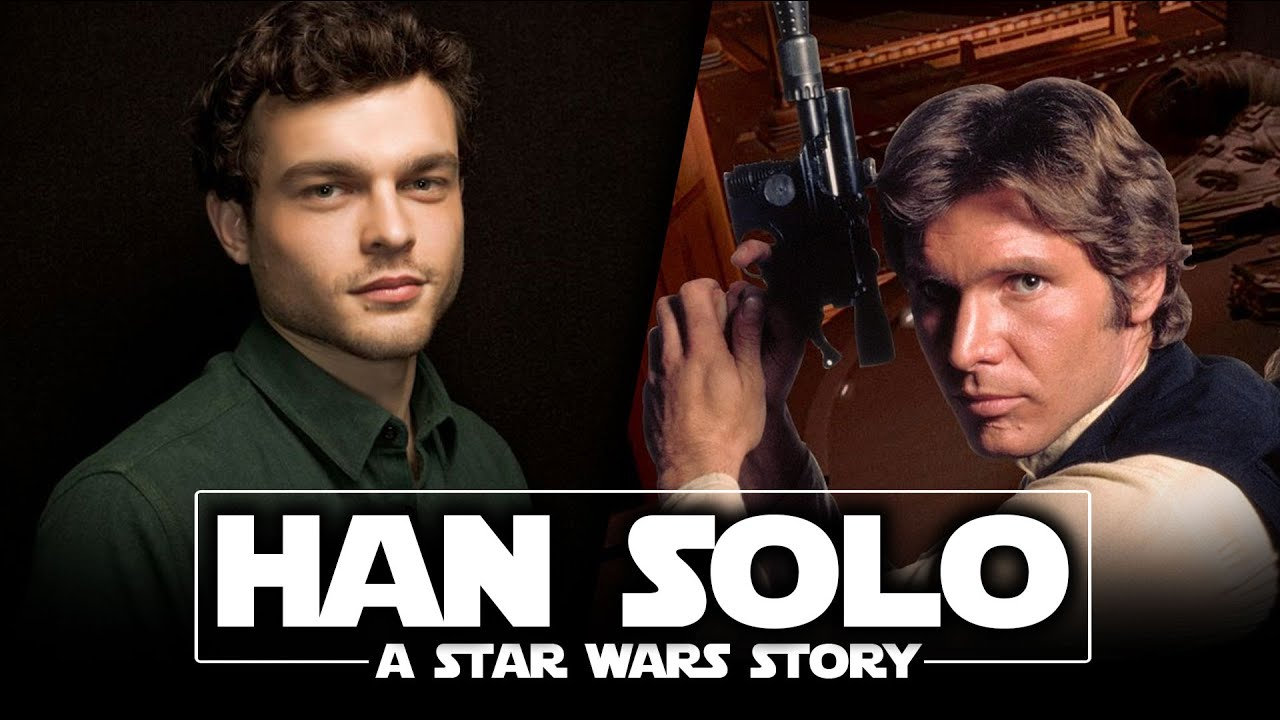 MEET THE NEW HAN SOLO! Han Solo: A Star Wars Story Movie Teased! No Trailer Soon