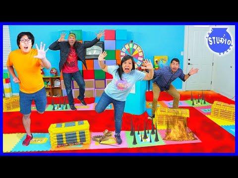 Giant Board Game Challenge! Winner get huge prize!!!