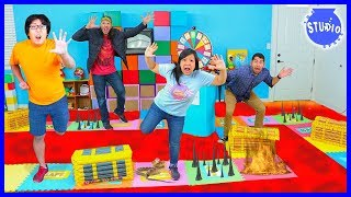 Giant Board Game Challenge! Winner get huge prize!!!