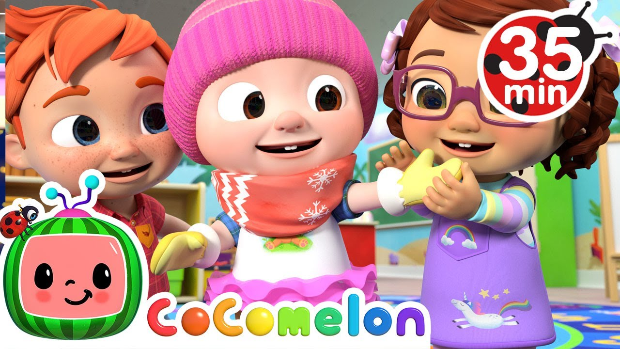 If You're Happy and You Know It + More Nursery Rhymes & Kids Songs - CoComelon
