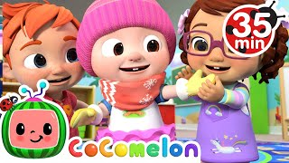 Download Mp3 If You re Happy and You Know It More Nursery Rhymes Kids Songs CoComelon