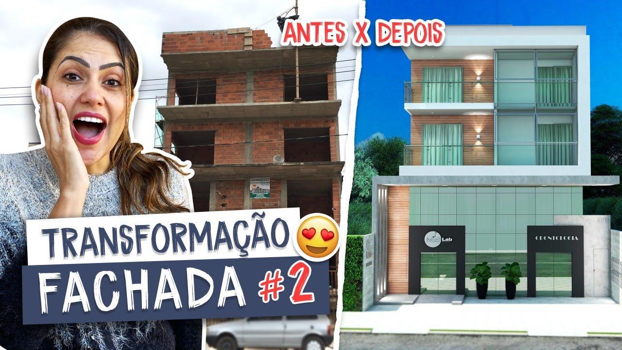 Transformação incrível de fachada #2 - Larissa Reis Arquitetura