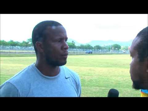 2015 Windward Islands Men's Championship - Saint Lucia head coach Francis 'Baba' Lastic
