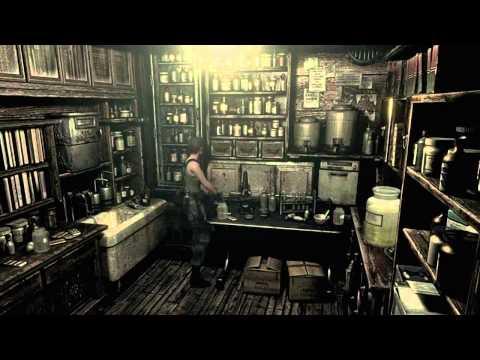 Resident evil hd remake make v jolt plant 42 book shelf for Plante 42 resident evil