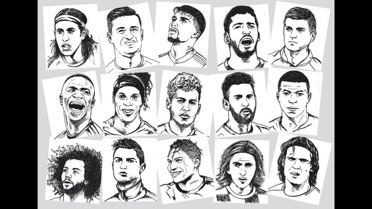 Desenhei 15 Jogadores De Futebol Bugados E Quero Ver Acertar Todos