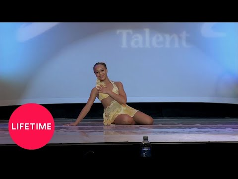 "Dance Moms: Nia's Jazz Solo - ""Freedom In Paradise"" (Season 4)   Lifetime"
