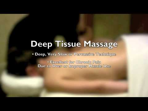 Swedish Massage Style vs. Deep Tissue Massage