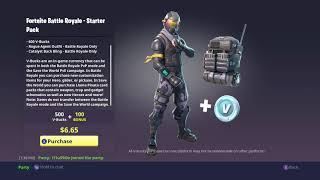 Pack de démarrage Fortnite, Halo Skin et 600 Vbucks