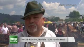 Hora Bucovinei, traditie 100 romaneasca