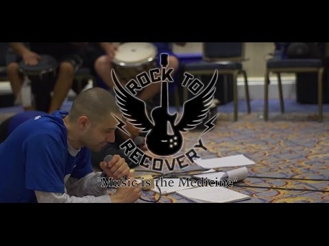 Rock to Recovery™ 'Music is the Medicine' (interviews)
