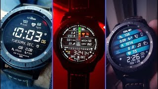 50 Absolutely Mind Blowing Watch Faces For Samsung Gear S3 | 2018 | Edition