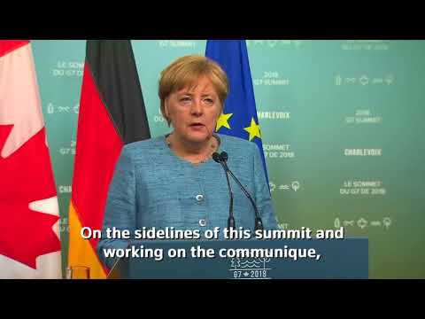 Despite gaps, Germany's Angela Merkel values frank talk with Trump