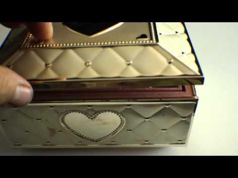 Lenox Childhood Memories, Ballerina Musical Jewelry Box
