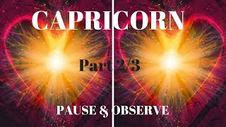 """CAPRICORN***PT 2/3**PAUSE & OBSERVE MESSAGE***SNAP SHOTS** I ONLY HAVE EYES FOR YOU***DON""""T GIVE UP"""