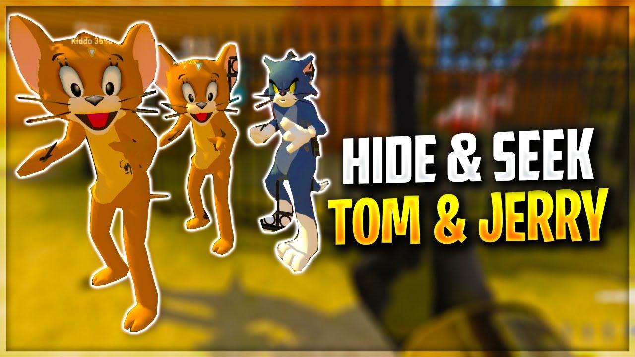 HIDE & SEEK EPIC CU TOM SI JERRY!!