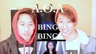 AOA BING BING 빙빙 MV REACTION (TWINS REACT) 에이오에이