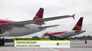 Aeropuerto JMC recibirá operación del Olaya Herrera