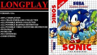 Game: Sonic the Hedgehog Language: English Platform: Sega Master System / Sega Mark III More Tags: Sonic the Hedgehog Sega Master System Sega Mark ...